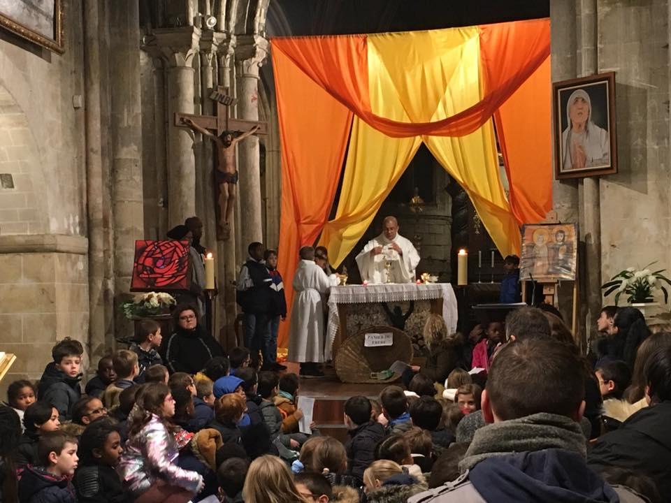 Messe des enfants du catéchisme 23/11/2019