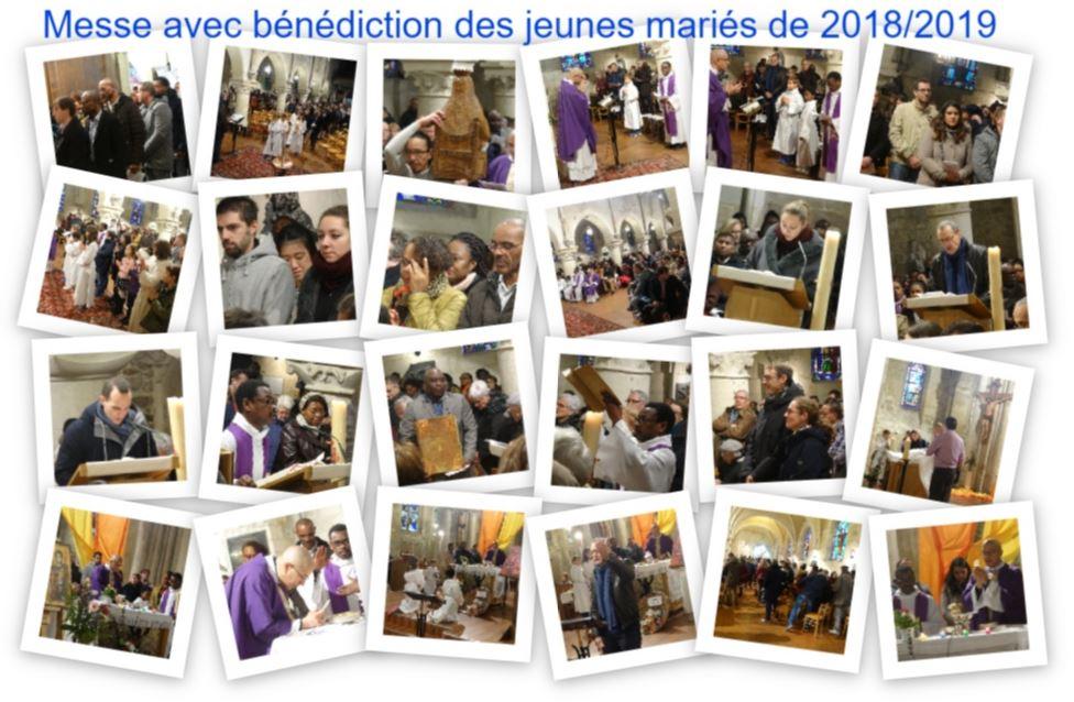 Messe du 01/12/2019 avec benediction des jeunes maries 2018-2019