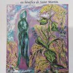 Venez découvrir ce week-end l'exposition de toiles « déconfinées » de Elisabeth Lahache-Thiefenthaler, de 13h à 19h à l'église.